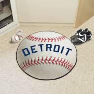 Detroit Tigers Baseball Rug