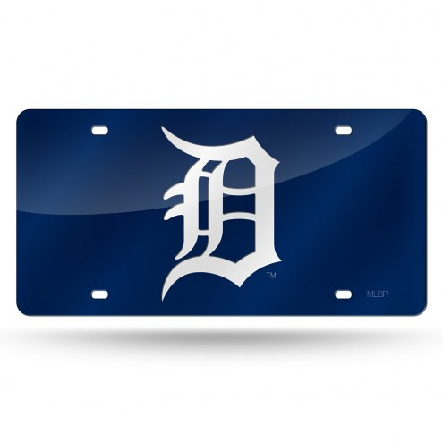 Detroit Tigers Laser Cut License Plate
