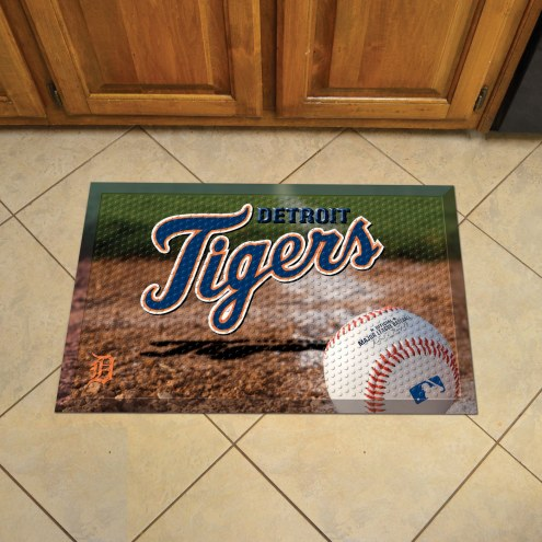 Detroit Tigers Scraper Door Mat