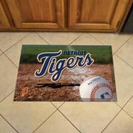 Detroit Tigers Scraper Door Mat