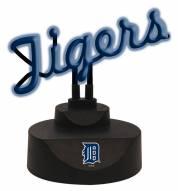 Detroit Tigers Script Neon Desk Lamp