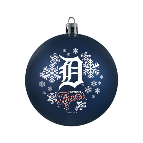 Detroit Tigers Shatterproof Ball Ornament