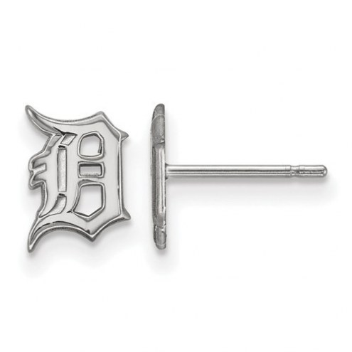 Detroit Tigers Sterling Silver Extra Small Post Earrings