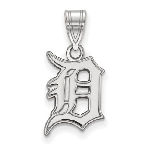 Detroit Tigers Sterling Silver Medium Pendant