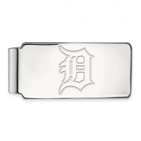 Detroit Tigers Sterling Silver Money Clip