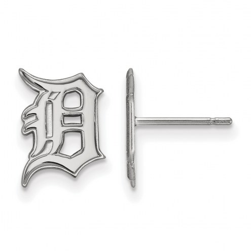 Detroit Tigers Sterling Silver Small Post Earrings