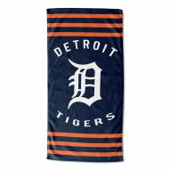 Detroit Tigers Stripes Beach Towel