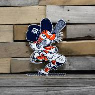 "Detroit Tigers Swinging Kitty 12"" Steel Logo Sign"