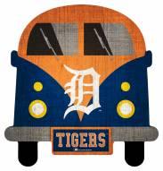 Detroit Tigers Team Bus Sign