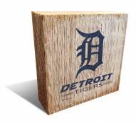 Detroit Tigers Team Logo Block