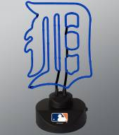 Detroit Tigers Team Logo Neon Lamp
