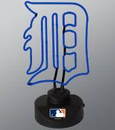 Detroit Tigers Team Logo Neon Lamp