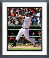 Detroit Tigers Tyler Collins Action Framed Photo