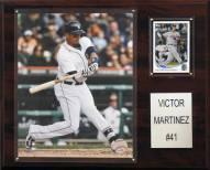 "Detroit Tigers Victor Martinez 12"" x 15"" Player Plaque"