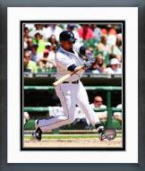 Detroit Tigers Victor Martinez Action Framed Photo
