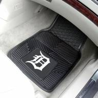 Detroit Tigers Vinyl 2-Piece Car Floor Mats