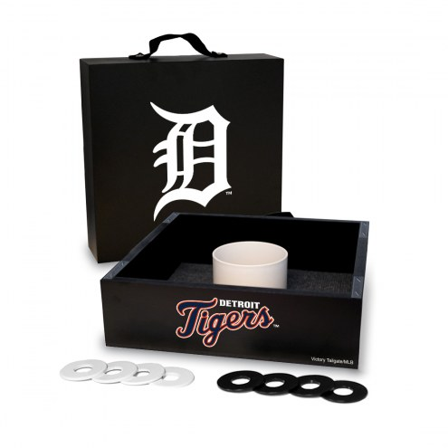 Detroit Tigers Washer Toss Game Set