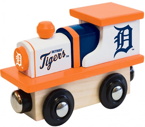 Detroit Tigers Wood Toy Train