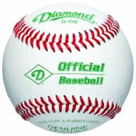 Diamond D-OB Offical Leather Baseballs - Dozen