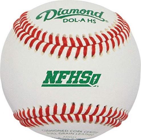 Diamond DOL-A NFHS Official League Baseballs - Dozen