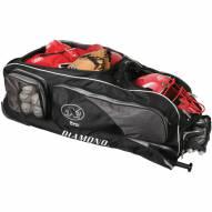 Diamond Gear Box Baseball Wheeled Catcher's Bag