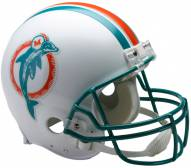 Riddell Miami Dolphins 1980-96 Authentic Throwback NFL Football Helmet - Full Size