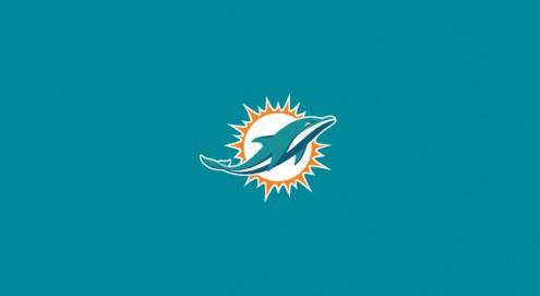 Miami Dolphins NFL Team Logo Billiard Cloth