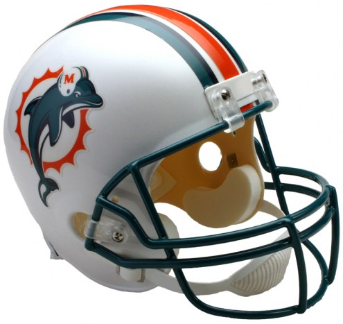 Riddell Miami Dolphins 97-12 Throwback VSR4 Collectible Football Helmet