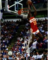 Dominique Wilkins Signed Reverse Dunk 8 x 10 Photo