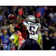 Dont'a Hightower Signed Super Bowl 51 Sack of Matt Ryan 8 x 10 Action Photo