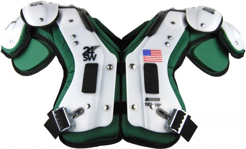 Douglas CP 24SW Cantilever Custom Color Adult Football Shoulder Pads - QB / WR / RB / DB