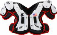 Douglas CP 24SW Flat Adult Football Shoulder Pads - QB / WR / RB / DB