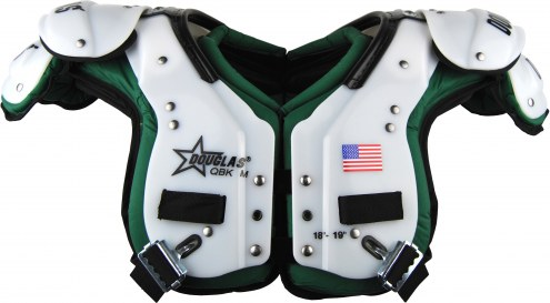 Douglas CP Series PCQK Custom Color Adult Football Shoulder Pads - QB / WR / K