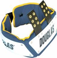Douglas Custom Pro Football Adjustable Rib Protector Combo - 4 inch