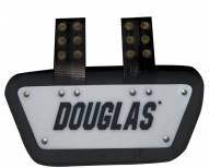 Douglas SP Series Removable Football Back Plate - 4 Inch