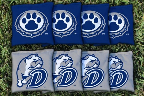 Drake Bulldogs Cornhole Bag Set