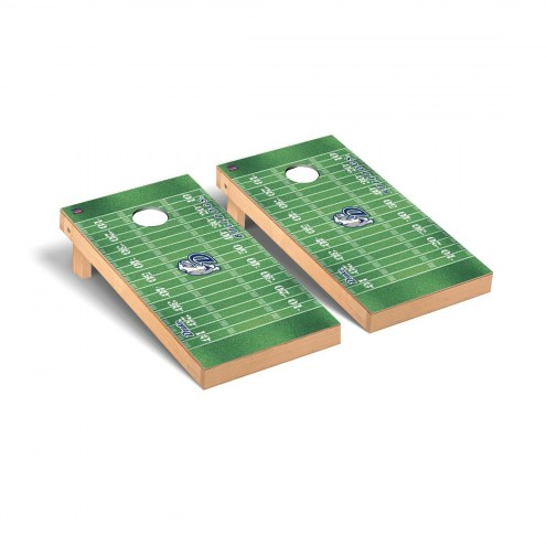 Drake Bulldogs Football Field Cornhole Game Set