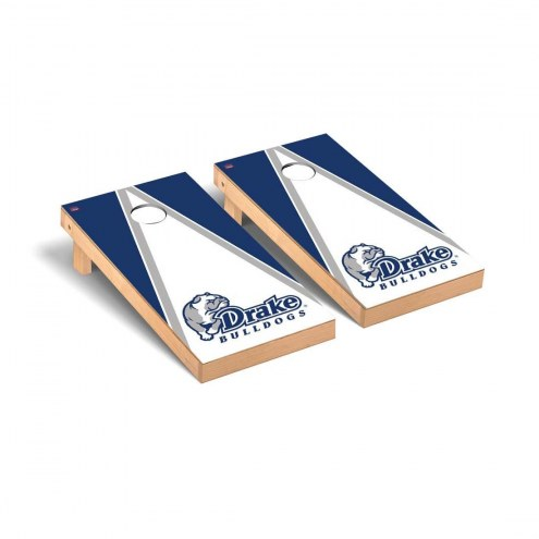 Drake Bulldogs Triangle Cornhole Game Set