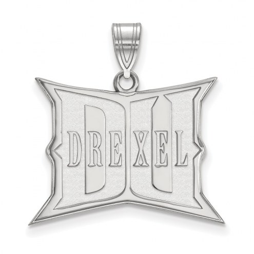 Drexel Dragons NCAA Sterling Silver Large Pendant