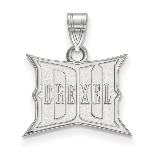 Drexel Dragons NCAA Sterling Silver Small Pendant