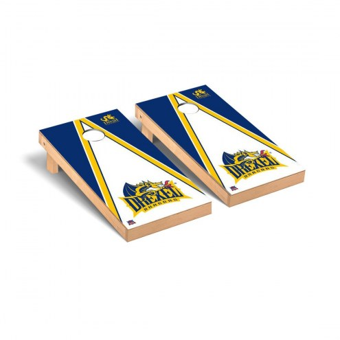 Drexel Dragons Triangle Cornhole Game Set