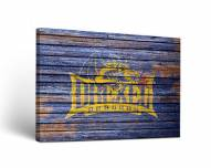Drexel Dragons Weathered Canvas Wall Art