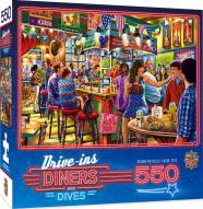 Drive-Ins, Diners and Dives Duffy's Sports & Suds 550 Piece Puzzle