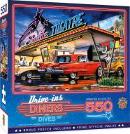 Drive-Ins, Diners and Dives Starlite Drive-In 550 Piece Puzzle