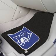 Duke Blue Devils 2-Piece Carpet Car Mats