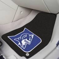 Duke Blue Devils 2-Piece Carpet Car Mats