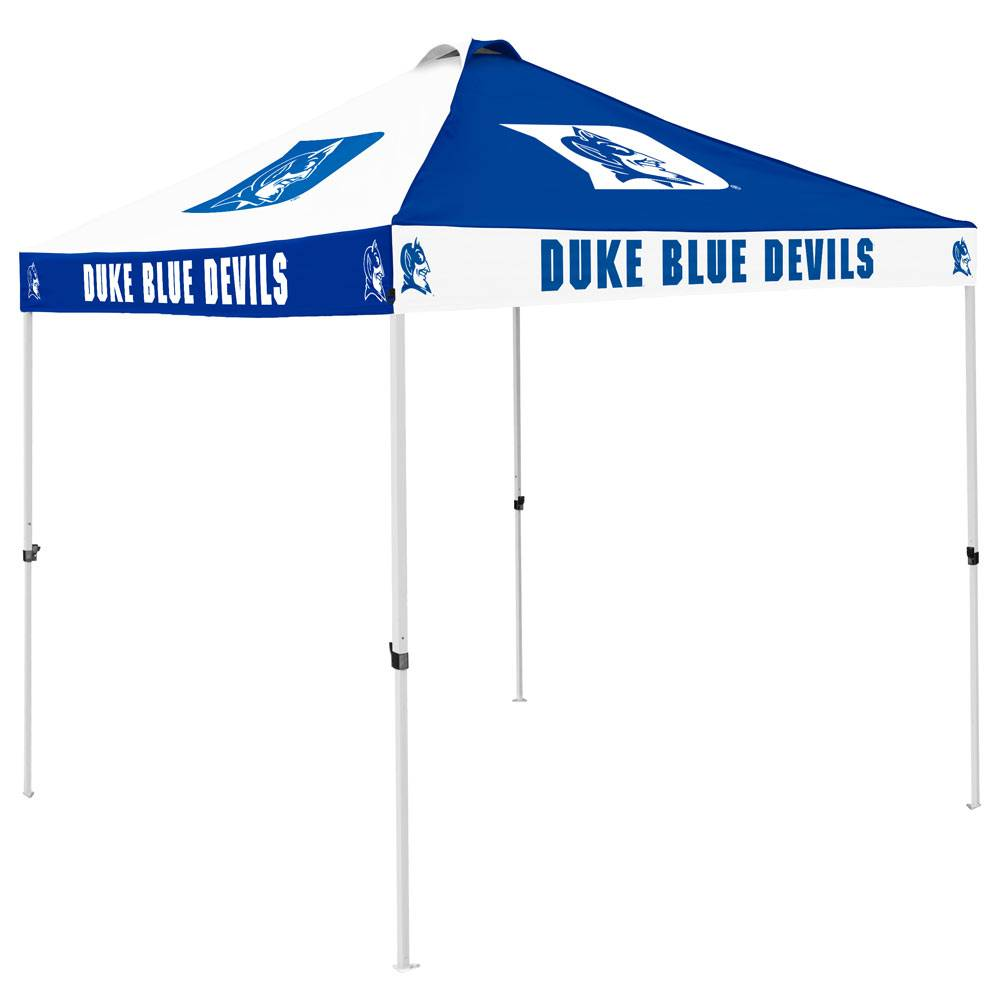 The best tailgating tent just got better! With a new design that features 16 team logos the Duke Blue Devils 9u0027 x 9u0027 Checkerboard Tailgate Canopy Tent is ...  sc 1 st  Sports Unlimited & Duke Blue Devils 9u0027 x 9u0027 Checkerboard Tailgate Canopy Tent