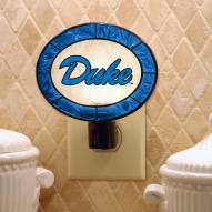 Duke Blue Devils Art Glass Night Light
