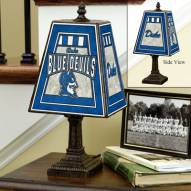Duke Blue Devils Art Glass Table Lamp