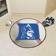 Duke Blue Devils Baseball Rug
